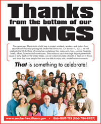 Thanks from the Bottom of Our Lungs